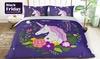 Kids' Unicorn Quilt Cover Set