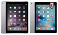 Refurbished Apple iPad Air 1 or 2 16-64GB Wi-Fi Space Grey With Free Delivery