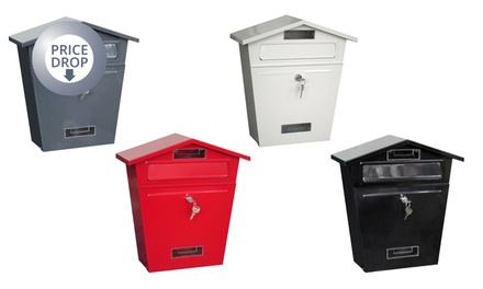 Lockable Post Box in Choice of Colour for £14.99
