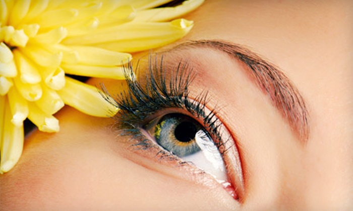 HairCare Salon & Spa - Maplewood: Full Set of Eyelash Extensions or Three Refills at HairCare Salon & Spa (Up to 60% Off)