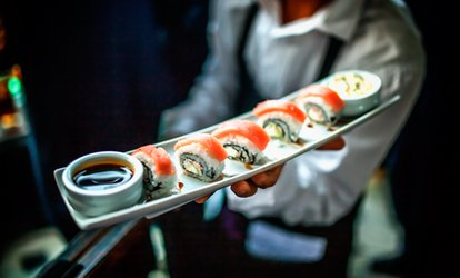 Three-Course Japanese Meal for One or Two at KuRaudo Sushi & Yakiniku (Up to 42% Off)
