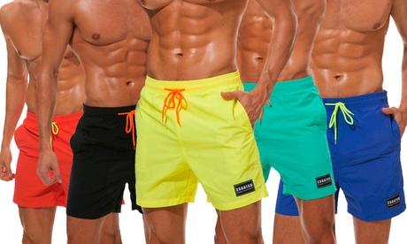 Trajes de baño para hombres 'Christophe' con bolsillos y cordón ajustable