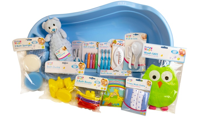 First Steps Bath Time Essentials Set from £16.99