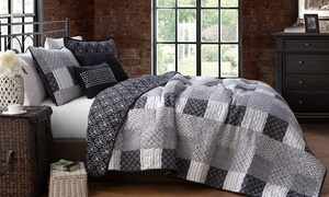 Avondale Manor Printed Reversible Quilt Sets (4 or 5-Piece)