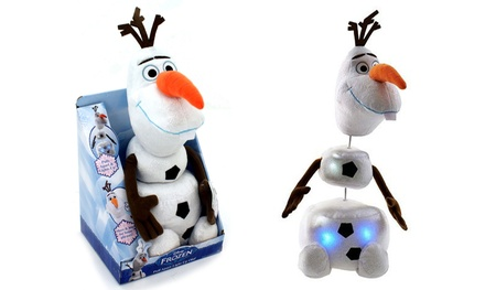 Disney Frozen Pull Apart Talking Light Up Olaf Plush Toy for £9.98