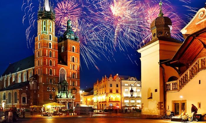 Kraków: 2-3 noce ze śniadaniami – sylwester