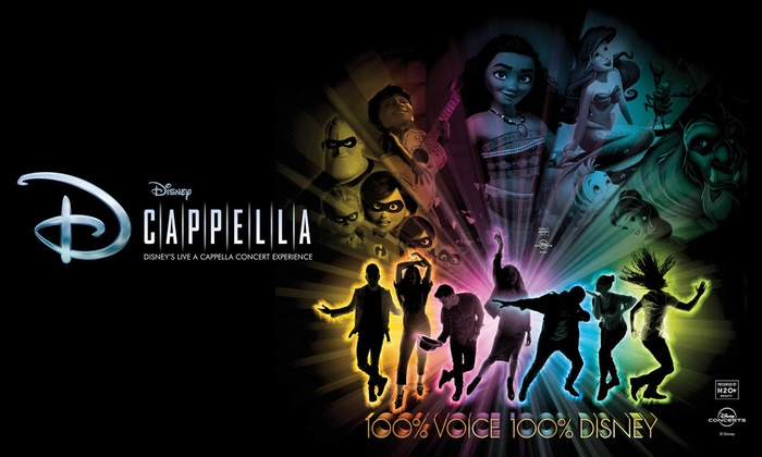 Disneys Dcappella On February 13 At 7 Pm