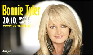 Edma.art: Od 79 zł: bilet na koncert Bonnie Tyler w katowickim Spodku