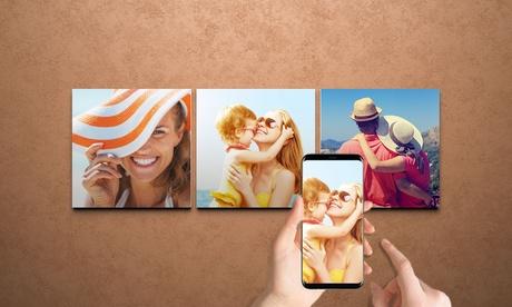 Foto-lienzo personalizable en diversos tamaños con Printerpix (hasta 92% de descuento)