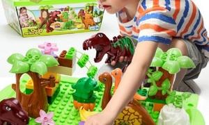 Coffret construction dinosaures