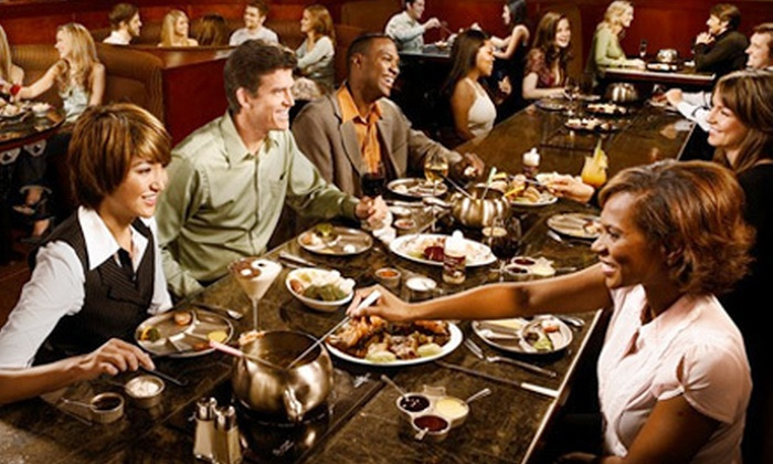 The Melting Pot - Avenue Viera: $45 for a Fondue Dinner for Two with Salads and Wine at The Melting Pot ($89 Value)