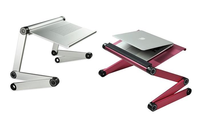 table pliante pour ordinateur portable groupon shopping. Black Bedroom Furniture Sets. Home Design Ideas