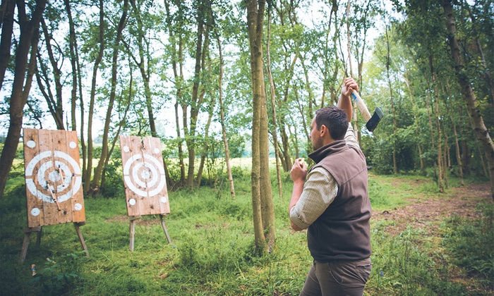 Axe Throwing Experience for Up to Four at Joe's Bows (Up to 47% Off)