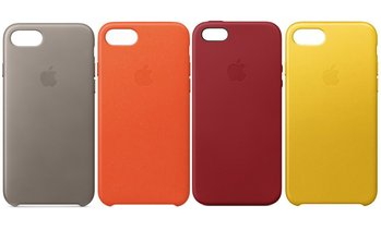 Apple Leather Cases for iPhones