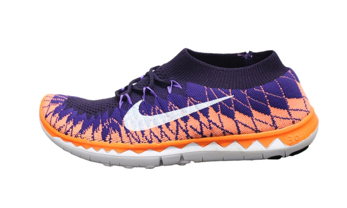 Details about Nike Free Trainer Fit 5 Womens Orange Lightweight Mesh Running Shoes Size 8