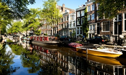 ✈ Amsterdam: 2 or 3 Nights with London Flights at a Choice of 4* Hotels; with Option for Canal Tour*
