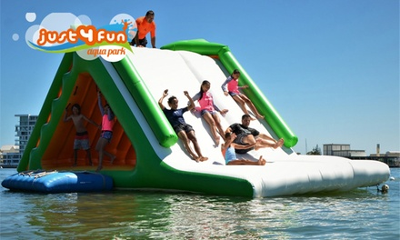 $29 for an All-Day Aqua Park Pass for One Person, Two Locations at Just 4 Fun Aqua Park (Up to $45 Value)