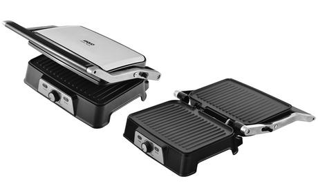 Grill XS-Quo 3 en 1: panini maker, plancha de asar y tostadora