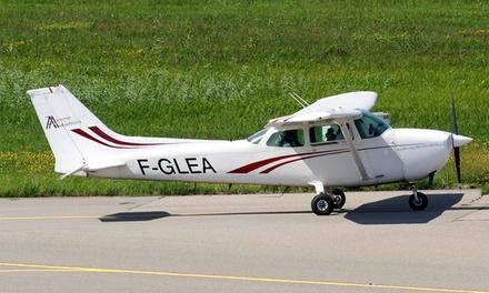 Vol dinitiation comprenant un briefing et 20 minutes de vol à 99 € avec Avenir Aviation