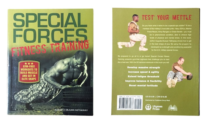 Special Forces Fitness Training Workout Book