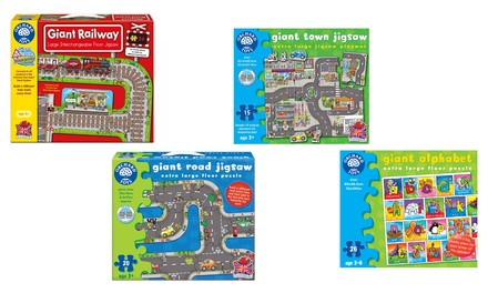 Orchard Toys Giant Jigsaw Puzzle in Choice of Design for £12