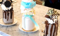 Choice of Two Freakshakes at Bella And Frannie Café Tea Parlour