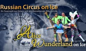 """Agenda Production: 2 Tickets für die Neuinszenierung von """"Alice im Wunderland on Ice"""" u. a. in Paderborn und Koblenz (bis zu 43% sparen)"""