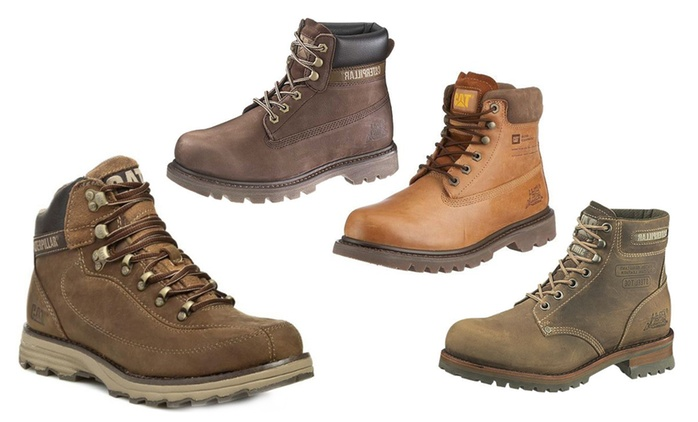 Men's Caterpillar Boots in Choice of Style from £54.98 (Up to 52% Off)
