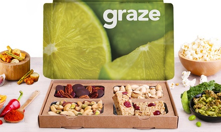 Four Snack-Box Deliveries from graze.com (Up to 50% Off)