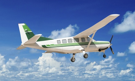 One 30- or 60-Minute In-Air  Flight Lesson for One at Crosswinds Flight School (Up to 57% Off)