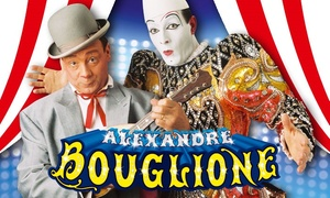 Cirque Bouglione (Belgique): 1 plaats in de tribune, loges of in de 'Carré Or' voor Circus Alexandre Bouglione aan het Atomium voor €10