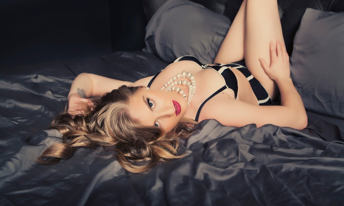 Bombshell Boudoir by Inspiring Images - San Francisco: Boudoir Photo Shoot Package with One or Two Outfits and Images from Inspiring Images Photography (Up to 79% Off)
