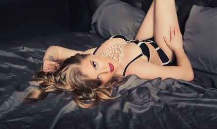 Boudoir Photo Shoot Package with One or Two Outfits and Images from Inspiring Images Photography (Up to 79% Off)