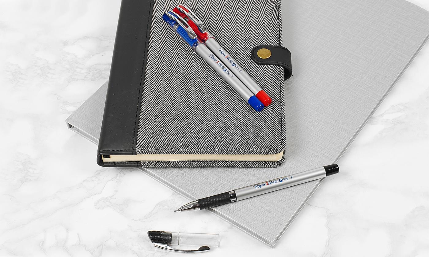 12, 24 or 48 Papermate X1 Pro 0.5 Gel Pens