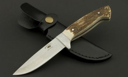 Ed Mahony Jagdmesser aus robustem Stahl Buffalo Skinner, Deer Hunter oder Wildlife Duo