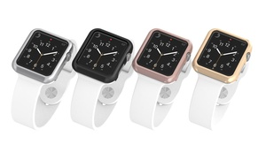 Element Works Aluminum Bumper Cases for Apple Watch Series 1, 2, and 3