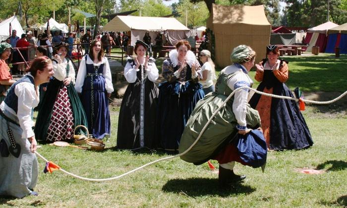 Tulare County Renaissance Faire - Tulare County Renaissance Faire: Two or Four Tickets to Tulare County Renaissance Faire on April 23 or 24 (Up to 38% Off)