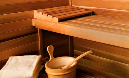 Three, Five, or Seven 30-Minute Infrared-Sauna Sessions at Escape Salon (Up to 65% Off)