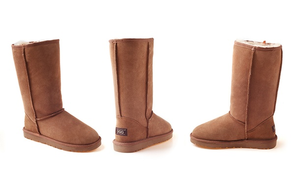 $109 for a Pair of Ozwear Classic Unisex Long UGG Water Resistant Boots (Dont Pay $299)