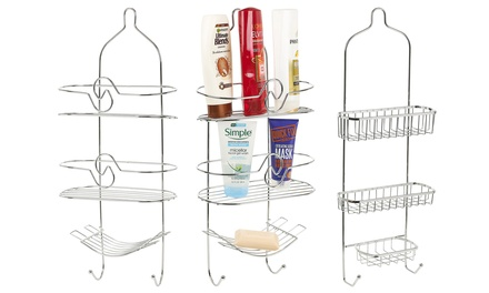 Three-Tier Hanging Shower Caddy