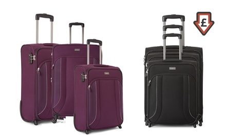 Antler Yavi ThreePiece Suitcase Set With Free Delivery