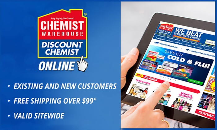 Chemist Warehouse Online: $10 to Spend at Chemist Warehouse Online with Free Shipping on Purchases Over $99