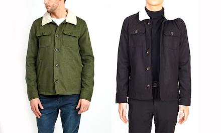 Men's Faux Wool Jacket
