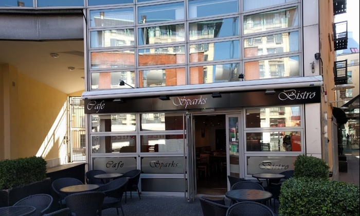 Sparks Bistro - Dublin: Three-Course Meal for Two or Four at Sparks Bistro