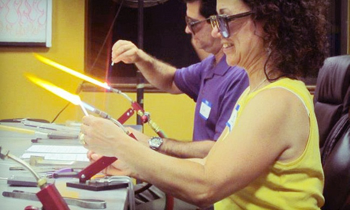 Rochester Arc & Flame Center - Gates: $75 for a Glass-Blowing Class for Two at Rochester Arc & Flame Center ($150 Value). 23 Dates Available.