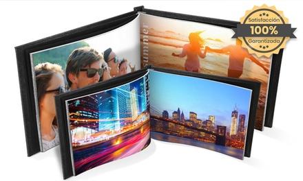 1, 2 o 3 álbumes de fotos con tapa de cuero en formato A4 en Printerpix (hasta 85% de descuento)