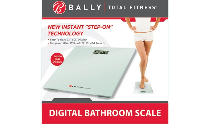 Up To 28% Off on Bally Digital Bathroom Scale | Groupon Goods