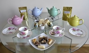 English Tealeaves: Tea Tasting and Desserts for Two or Four at English Tealeaves (Up to 44% Off)