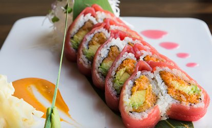 Asian Cuisine and Drinks at Fhoo Asian Bistro & Sushi (Up to 40% Off). Four Options Available.