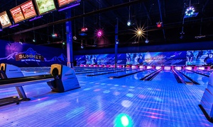 Up to 60% Off Bowling at The Summit Interquest at The Summit Interquest, plus 6.0% Cash Back from Ebates.